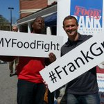 RT @frank_mickens: #WFMYFoodFight begins! @HarrisTeeter in #greensboro @ Friendly Center! Bring yr canned goods http://t.co/6Hs9peceuX