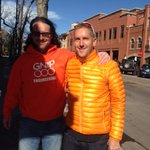 Sighting in the wild of @bfeld wearing his (now vintage) @Gnip Engineering hoodie. http://t.co/YRirdxDO65