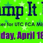 Pump it Up fundraiser for UTC FCAs mission trip is THIS FRIDAY! Go to Pump it Up and UTC FCA gets 30% of admission! http://t.co/NEane2sXld