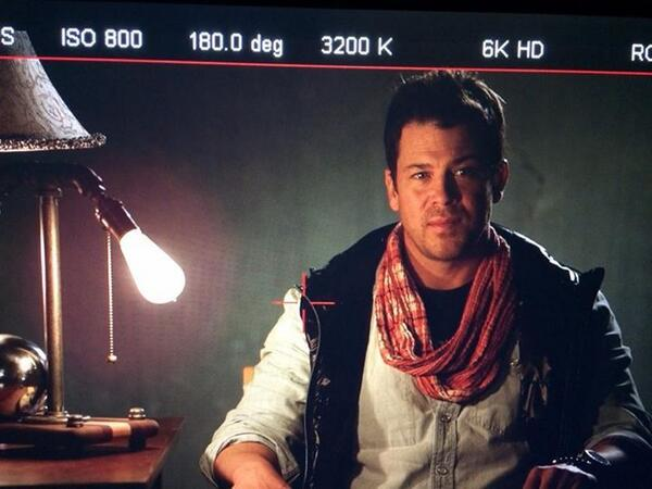 Christian Kane (@ChristianKane01): There you go!!! hahaa it's out! RT @Dean_Devlin: Ladies and gentlemen, the haircut! #TheLibrarians http://t.co/D4Zz6adVf8