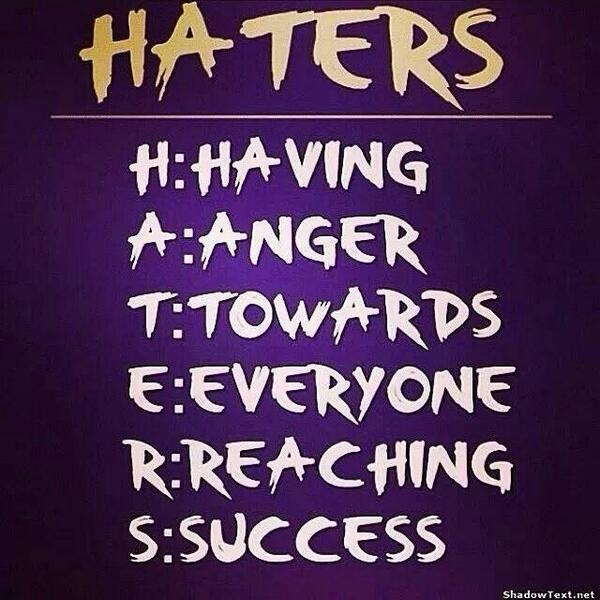 It's the #Truth you know you doing things right when you got #Haters http://t.co/wum2ZgStUH