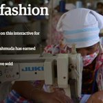 RT @guardian: Interactive: the human cost of the Bangladeshi garment industry http://t.co/rHr8RDaXpG @guardianworld http://t.co/N0TqOFz7QT