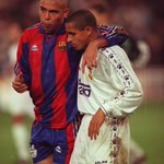 Brothers in arms. Ronaldo and Roberto Carlos. 1996/97 http://t.co/gnT7yKWiSz