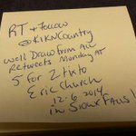RT @KIKNCountry: RT to Win Tickets to @ericchurch @eventscenter_sf #kikncountry http://t.co/r2QGLBMup3