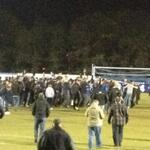Wealdstone pitch invasion at Margate after winning the league yesterday http://t.co/nSxw3ZMkBo