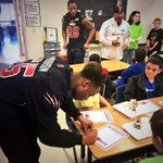 "RT @AnthonyJTucker: The RedWolves sharing lunch and life with the future RedWolves at the Nettleton ""Boyz Club"" #HowlYesMovement http://t.co/f47VL6pMwR"