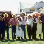 RT @DallasFanzine: #Dallas cast (minus Susan Howard) on the final day of Texas location filming in 1986 #DallasTNT... http://t.co/PoqrSpNUHE