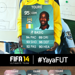 RT @EASPORTSFIFA: RT with #YayaFUT for a chance to win 1 of 3 Pro Player IFs signed by @MCFCs @Toure_yaya42! Closes at 12am UK. #FUT http://t.co/ahAlPMf8Qs