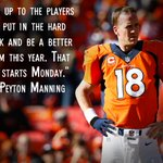 More on Peyton Mannings thoughts about the 2014 #Broncos: http://t.co/yBqTubcmo4. http://t.co/71nNfXQ5PZ