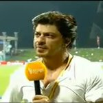 RT @SRKFC1: *Screencap* SHAH RUKH KHAN ( @iamsrk ) talking to @gauravkapur on IPL #ExtraInnings . http://t.co/WPmkYS6Z1g