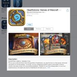 Looks like @PlayHearthstone is life on the US App Store, so go download it now! #Hearthstone http://t.co/YBdOTo2cs9