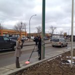 .@WendyWGlobal and @dsauerglobal working on gas price story for EN6 and NHF10 #yxe http://t.co/55OiodscxV
