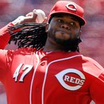 .@JohnnyCueto had an unbelievable outing: 9 IP, 3 H, 0 R, 0 BB, 12 Ks. http://t.co/eXnUFFyv7v