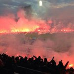 RT @StephenConstan: For those of my followers who are not in Greece this is TOUMBA home of PAOK http://t.co/MR1CG1DvSh