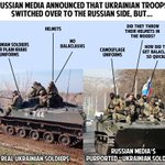 #Russian media announced that #Ukrainian troops switched over to the Russian side. BUT… #StopRussianPropaganda -EMPR http://t.co/SiDlMljum4