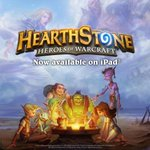 RT @PlayHearthstone: Its time to let your fingers do the dueling - Hearthstone is now available on iPad! Info: http://t.co/ZPO4meaNZH http://t.co/NKr9vUeTfx