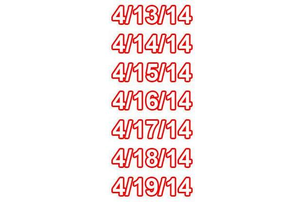 #funfact: Every day of this week can be read the same forwards and backwards! http://t.co/VC7Rsdj7nx