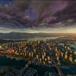 RT @HKrammRealtor: RT @lifeisvan: Awesome aerial from Kits (sadly it doesnt look like this today) #Vancouver http://t.co/HImEeaWSxC - What a great #photo.