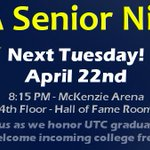 RT @ChattanoogaFCA: HS seniors: If you are going to UTC or Chatt St in the fall, come to UTC FCA next Tues for Senior Night! http://t.co/ACoiI5IZaO
