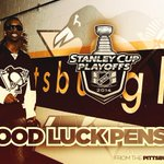 RT @Pirates: Good luck in the playoffs, @penguins! #BurghProud #LetsGoPens http://t.co/X24fSwXcuD