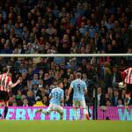 RT @premierleague: PHOTO Connor Wickham steals in to equalise for Sunderland at Man City in the #BPL. Its 1-1 after 82 mins #MCISUN http://t.co/JpbHNNDx7S