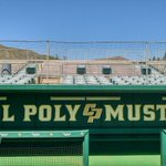 Cal Poly is bringing in portable bleachers for this weeks series with Fullerton. Krukows is getting a makeover. http://t.co/1UwVXA7yku