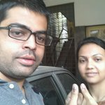 Voted for @AnanthKumar_BJP #NaMo4PM @India272 @KiranKS @DrShobha @BJP4India @bjpkarnataka http://t.co/qI0kCYhaVx