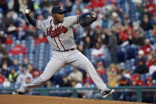 #Braves win 1-0. @Julio_Teheran with the complete game #shutout. http://t.co/v3EoWKfCzX http://t.co/Ocbw50kg5N