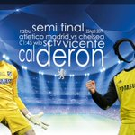 RT @ChelseafanIndo: Champion League Semi Final (First Leg): Atletico madrid vs Chelsea Rabu, 23 April 2014 01:45WIB LIVE: SCTV #KTBFFH http://t.co/1nDoECxxkY