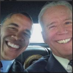 Now thats a high powered pic...@JoeBiden takes his first selfie -- with special guest @BarackObama! WEDN461 http://t.co/sarhOu9s1K