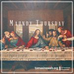 "RT @TomasinoWeb: ""Love one another as I have loved you"" (John 13:34) Today is #MaundyThursday http://t.co/paVcz0DDxh"