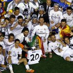 Congratulations to Real Madrid, winners of the Copa del Rey. http://t.co/NXsEICxSfW
