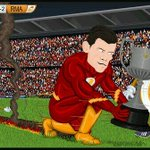 RT @RmadridInfo: Comic: Super Bale wins the trophy for Real Madrid [@r4six] http://t.co/skrlP9nneX