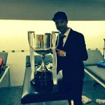 RT @Cristiano: First title of the season. #FinalCopa #champions http://t.co/iMg6HEJSfW