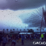 RT @coachella: Did you know that 2012 was the first year it rained at Coachella? Now you know. http://t.co/Rw1ePfhbga