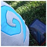 RT @PlayHearthstone: Its a perfect day to play some #Hearthstone in the shade, dont you think? #HSiPad http://t.co/sxQwFX9DUq