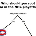 RT @sportspickle: Flowchart: Who Should You Root for in the NHL Playoffs? .... http://t.co/E4jWPhYN9J http://t.co/FDStAElyvN
