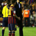 """@TSBible: Cristiano Ronaldo consoles Lionel Messi after Real Madrid win the Copa del Rey. What a photo! http://t.co/Zjkmyel8Kg"" @zakshea"