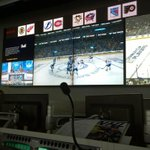 RT @NHL: View of the first puck drop of the 2014 #StanleyCup Playoffs from the Situation Room in Toronto. #HockeyOps http://t.co/JagPCM5Rnd