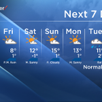 If we can just get through the next two days, things will get much better. Heres your 7-day forecast Calgary. #yyc http://t.co/Vzgqiz1WAV