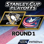 The puck drops now! #LetsGoPens #ChasingTheCup #BecauseItsTheCup #WTAEpens http://t.co/AxsbH7sPTI