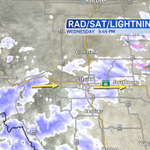 RT @CTVdavidspence: A short break from the #Calgary snow is coming soon. There is another band of snow approaching from the west. #yyc http://t.co/pLLwgSZG2r