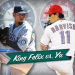 Weve got a good one tonight. King Felix and the #Mariners vs. Yu Darvish and the #Rangers. Tune in at 5:05 p.m. http://t.co/4dOGxSKxF9