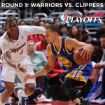 OFFICIAL: #Warriors to play @LAClippers in 1st rd. of #NBAPlayoffs. This was confirmed with tonight's OKC win. http://t.co/RTvhQXGZgk