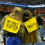 Now this is how you dress for a massive Grizzlies game. Turn down for what... http://t.co/LPQIv9VwH7