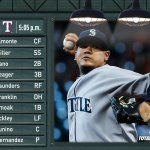 PLAY BALL! #Mariners vs. #Rangers. @ROOTSPORTS_NW, @710ESPNSeattle or http://t.co/3nGfZxIE5s #HappyFelixDay http://t.co/PZxonMA8tG
