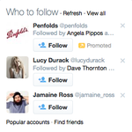 RT @nonstoptom: After tweeting about Barry O'Farrell, look who popped up in who to follow'. #MICF http://t.co/1rBpeiwa3O