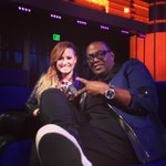 RT @YO_RANDYJACKSON: The lovely @ddlovato stopped by @AmericanIdol and joined me in the lounge #IdolLive http://t.co/pvbRAfv4aH