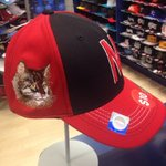 Purr-fect #Nebraska hat for @BoPelini via @LPWildcat http://t.co/6oALi4ZoCm