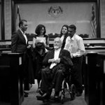 R.I.P Karpal singh/C.selvam. Lets pray for Ramkarpal. The last picture I took of karpal in the court room http://t.co/1LSeWPAXwe